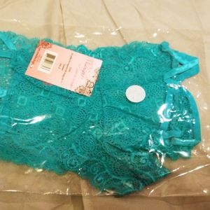 Turquoise sexy panties. NWT.